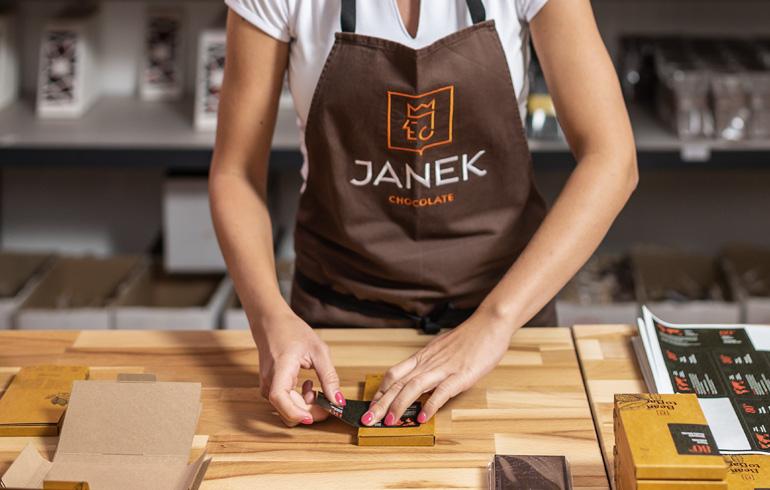 Čokoládovna JANEK